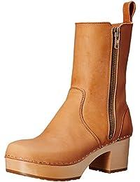 swedish hasbeens Women's Zip It Plateau Boot