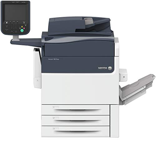 - Used Xerox Versant 180 Digital Press Color Production Printer with Finisher and Print Server, 80 PPM - Copy/Print/Scan