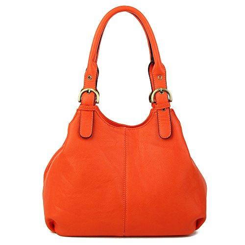 hombro Naranja mujer Bolso Craze London para al 4qvz6nS