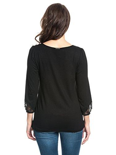 Vive Maria Nice Girl Shirt Schwarz