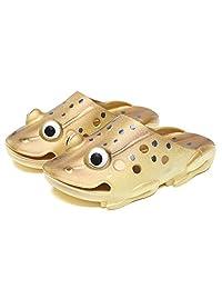 KVbaby Kid's Ultra-Soft Slipper Cute Garden Shoes Frog Clogs Summer Beach Walking Slippers