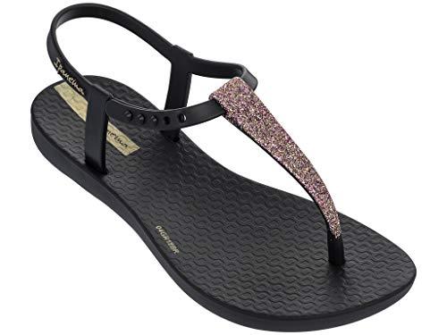 - Ipanema Shimmer Girls' Sandals, Black/Black (2/3 US)