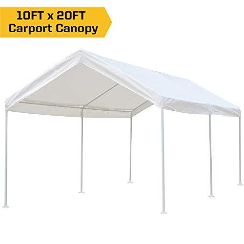 Cheap kdgarden 10 x 20 ft. Carport Car Canopy Portable Garage ...