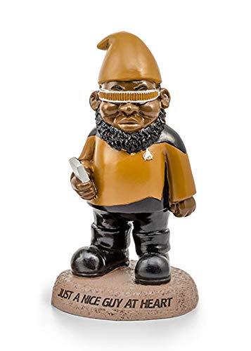 BigMouth Inc Officially Licensed Star Trek Geordi La Forge Garden Gnome Statue