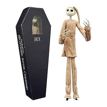 Amazon.com: Nightmare Before Christmas Jack in Pajamas Coffin ...