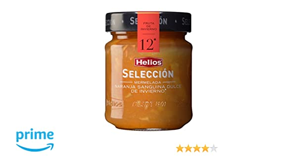 Helios Mermelada Extra Naranja Dulce Sanguina de Invierno - 250 g: Amazon.es: Amazon Pantry