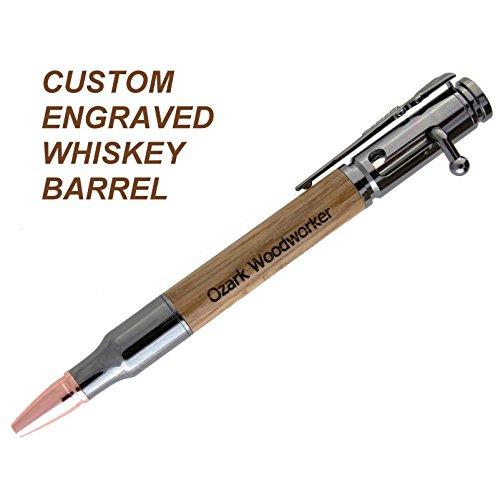 whiskey-barrel-wood-custom-engraved-30-caliber-bolt-action-ballpoint-pen-handmade-groomsmen-father-g