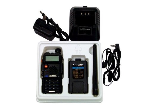 BaoFeng Dual band UV-5R VHF/UHF Dual Band Radio 136-174 400-480Mhz Transceiver, Outdoor Stuffs