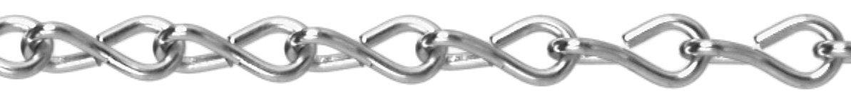 Single Jack Chains - #14 bk steel jack chain Cooper Tools