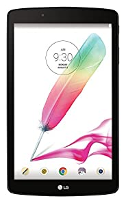 LG G Pad F 8.0 16GB (2nd Gen) GSM (Unlocked by AT&T) + Wi-Fi Android Tablet PC w/ 8-inch Display & Built-in Stylus Pen - Silver (Model V495)