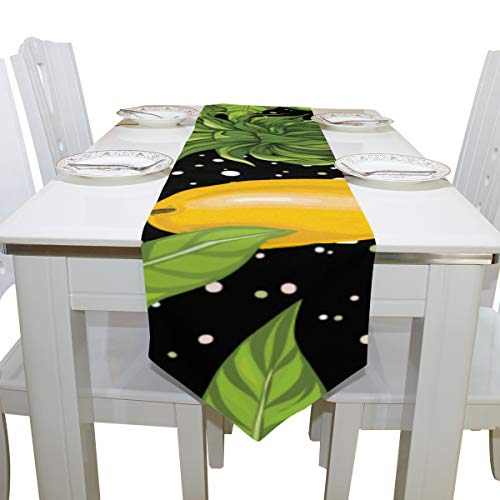 Liaosax Table for Clothes Yellow Pinapple Mango Cloth