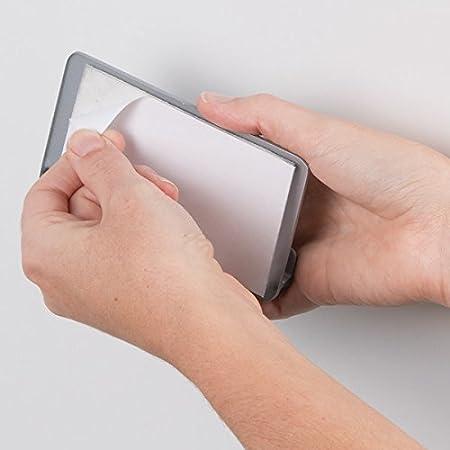 mDesign Estantes de cocina autoadhesivos AFFIXX - Estantería metálica de pared  para papel de aluminio y bolsas para congelados - Balda para cocina de  color ... daa10d96b591