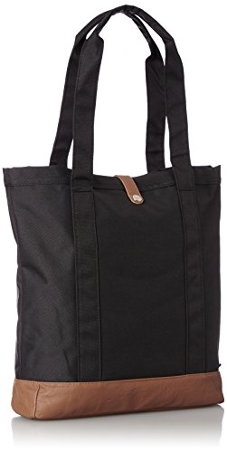 tout 33 Herschel Sac cm à Pu Tan main Black Fourre Bags Market xwY001Tgq