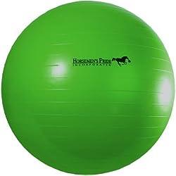 Horsemen's Pride Mega Ball Horse Toy, Green, 40-inch