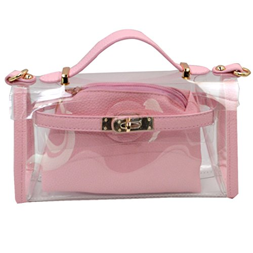 jelly purses pink - 3