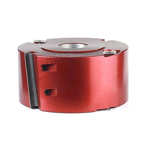 Insert Shaper Cutters - Amana Tool 61484 Insert Carbide Shear Rabbeting 125mm D x 60mm CH x 1-1/4 Bore Aluminum Shaper Cutter