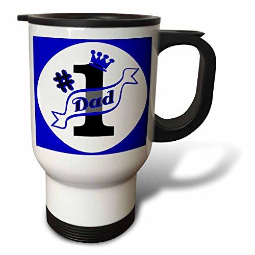 number 1 dad mug - 5