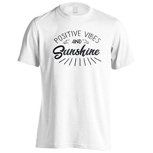 Positive Schwingungen Und Sonnenschein Herren T-Shirt n701m
