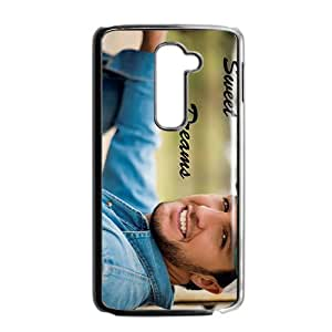Country Man Luke Bryan Bright Smile Design Hard Case Cover Protector For LG G2