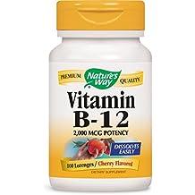 Nature's Way Vitamin B12 Lozenge, 100 Count