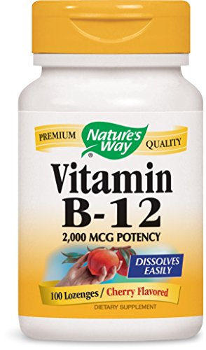 Nature's Way Vitamin B12 Lozenge, 100 Count