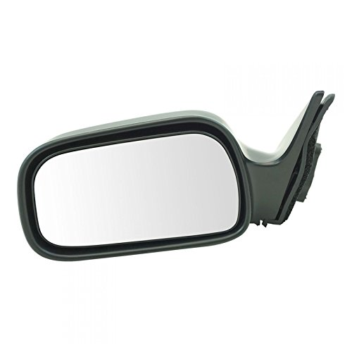 (Manual Side View Door Mirror LH Left Hand Driver Side for 92-96 Toyota)