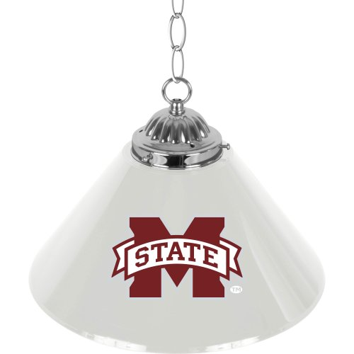 NCAA Mississippi State University Single Shade Gameroom Lamp, 14