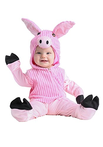Pig Infant Costumes - Infant Baby Pig Costume 0/3 Months