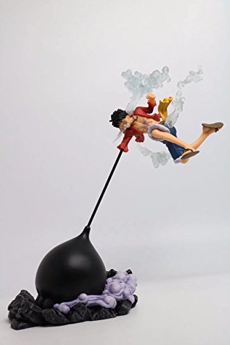 - Anime One Piece Luffy Combat form PVC Action Figure Collection Model Toy