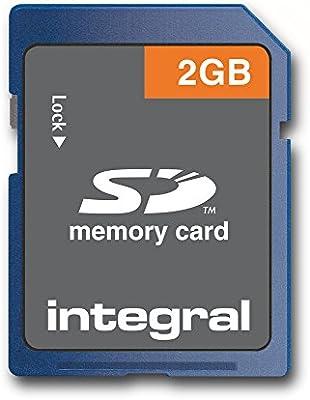 Integral 2GB SD Card - Tarjeta de Memoria (2 GB, Secure Digital ...