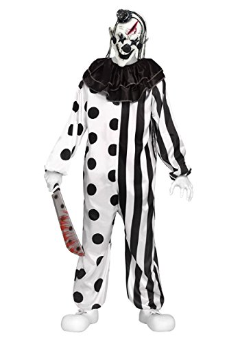 Child Killer Halloween Costume (Teen Killer Clown Costume Standard)