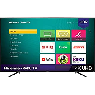 "Hisense 55"" Class LED Smart 4K UHD TV with HDR Roku TV"