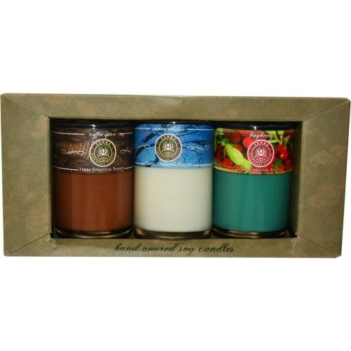 Candle Gift Set By Terra Essential Scents