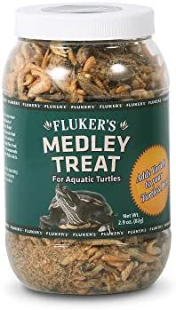 Fluker's 72022 Aquatic Turtle Medley Treat, 2.9 oz Container