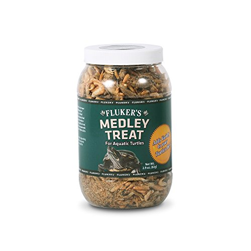 (Fluker's 72022 Aquatic Turtle Medley Treat, 2.9 Ounce Container)
