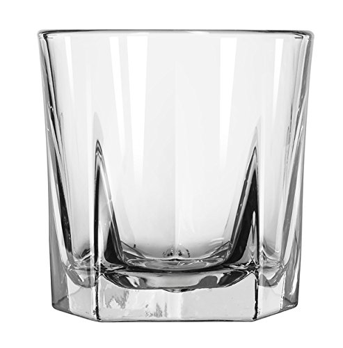 Libbey Glassware 15481 Inverness Rocks (Duratuff) Glass, 9 oz. (Pack of 36)