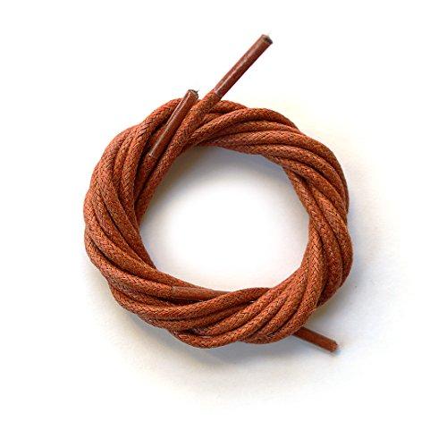 orange dress shoe laces - 3