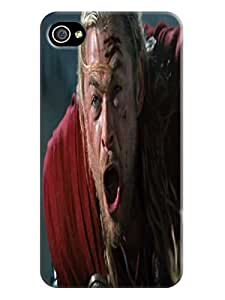 cellphone accessory-phone protective case cover + fashionable and unique Cool Chris Hemsworth Thor TPU skin for iphone 4/4s