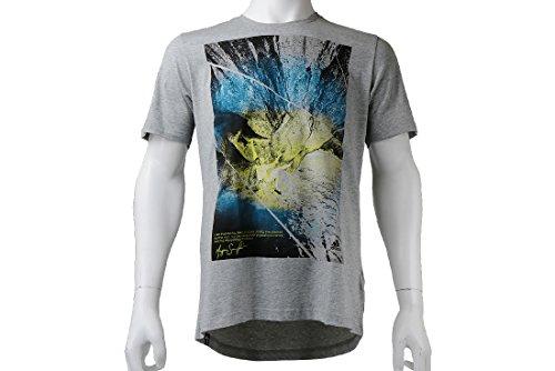 para Climachill adidas grey Hombre tee Camiseta Multicolor dtwzqH0zx