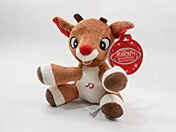 Rudolph, The Red-nosed Reindeer, Musical 5 Inch (12.7 Cm) Plush Toy