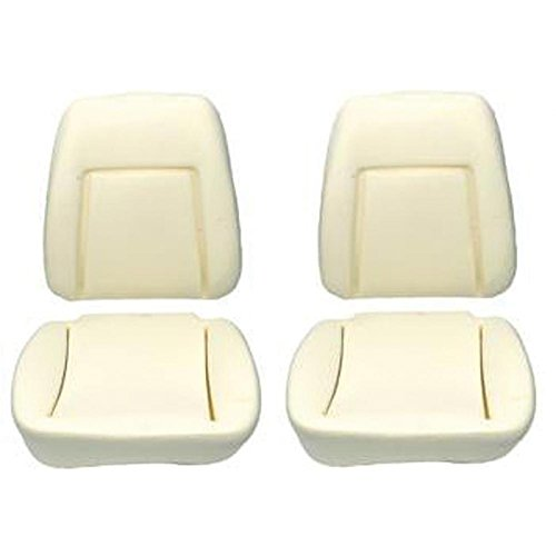 Eckler's Premier Quality Products 33-184169 Camaro Bucket Seat Foam Cushions, With Reinforcing Wire, Deluxe Interior,