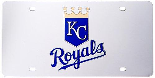 MLB Kansas City Royals Laser Cut License Plate, - City Kansas Malls