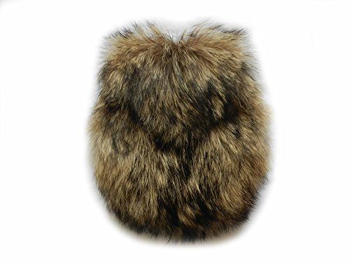 Scottish Kilt Coyote Fur Sporrans - Formal or Semi Formal… (Full Fur Front) (Fur Coyote)