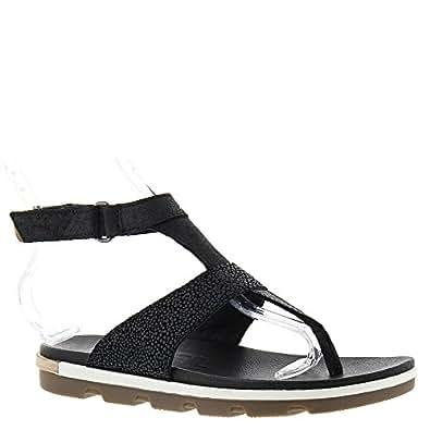 Amazon Com Sorel Torpeda Ankle Strap Sandal Women S