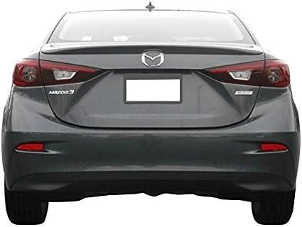 2014 2015 2016 2017 2018 Mazda 3 MATTE BLACK Factory Style Lip Spoiler Wing