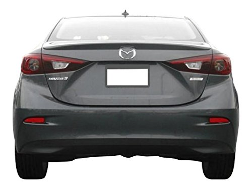 Factory Style Lip Spoiler for the Mazda 3 Sedan Painted in the Factory Paint Code of Your Choice 538 25D with 3M tape included