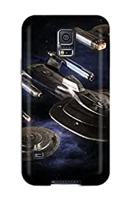 Hot Fashion MdmCNtB1120adXfY Design YY-ONE For Galaxy S5 Protective Case (star Trek)