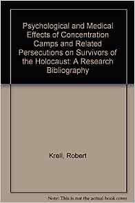 Psychological Trauma and the Holocaust