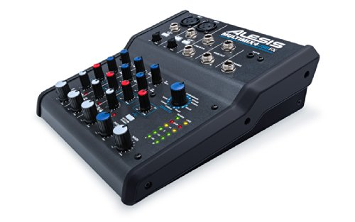 Alesis-Multimix-4-USB-FX-4-Channel-Mixer-with-Effects-Plus-USB-Audio-Interface