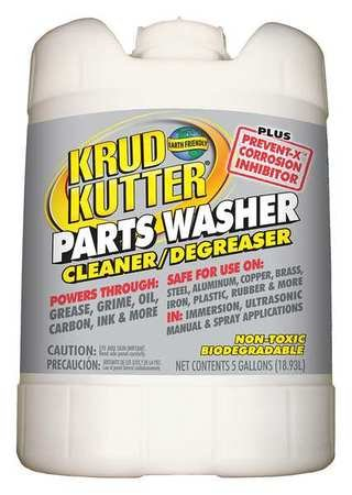 Parts Washer Cleaning Solution, 5 gal.